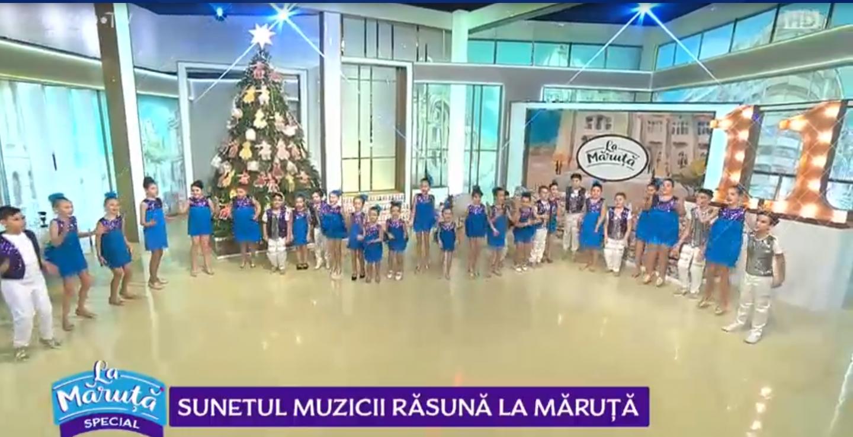 """VIDEO Sunetul muzicii răsună """"La Măruță"""""""