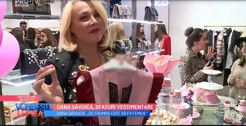 VIDEO Dana Săvuică, sfaturi vestimentare