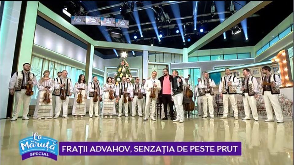 """VIDEO Astăzi """"La Măruță"""", frații Advahov ne-au cântat și încântat"""