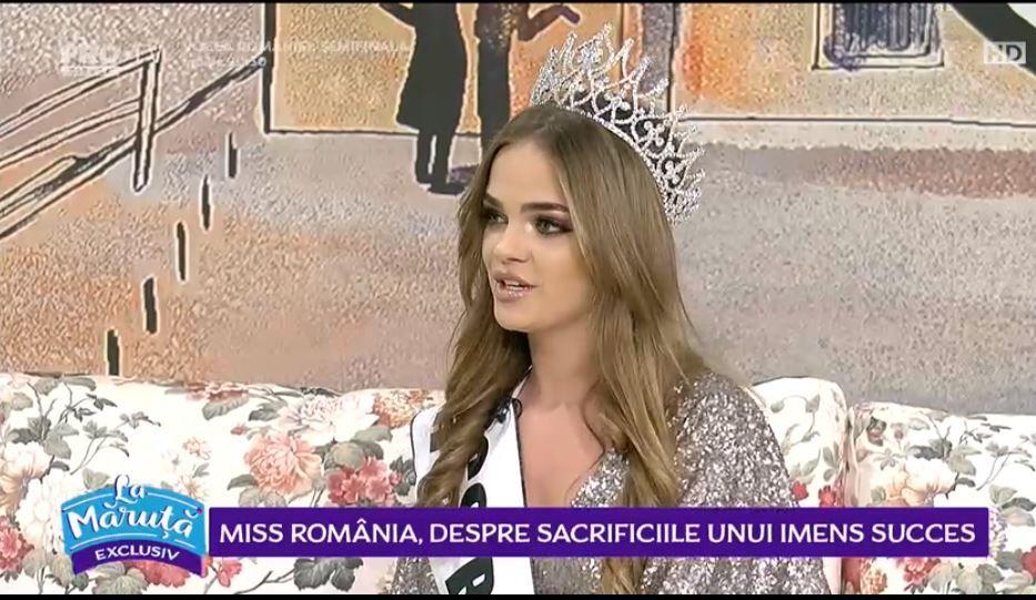 VIDEO Miss România, despre sacrificiile unui imens succes