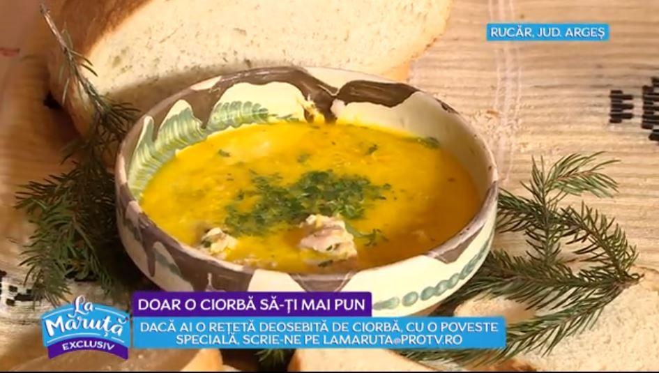 VIDEO Liana Olteanu ne-a arătat astăzi o rețetă delicioasă de ciorbă rucăreană
