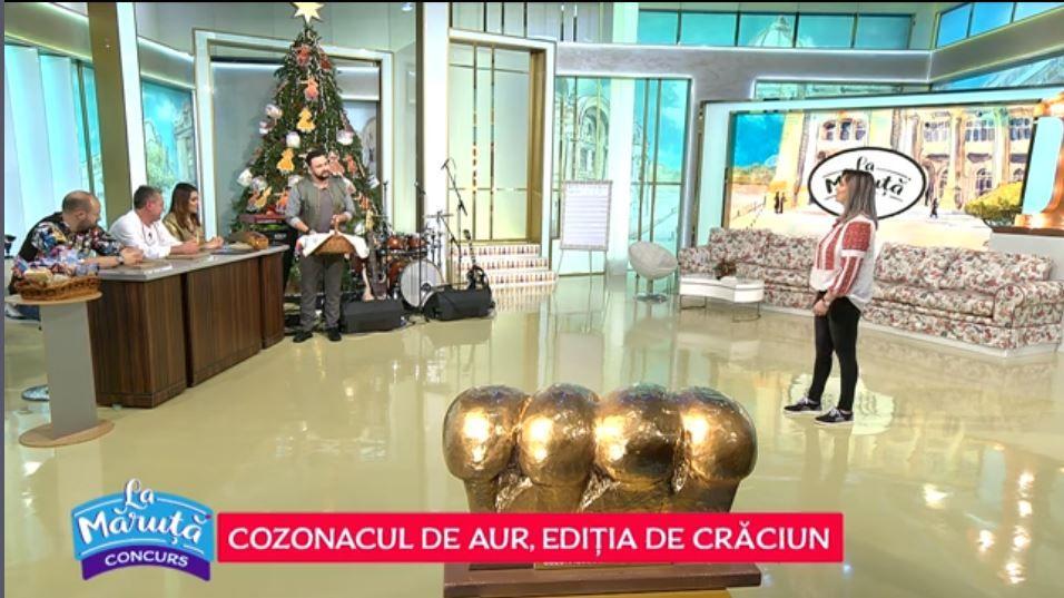 """VIDEO Concursul """"Cozonacul de aur"""" continuă La Măruță! Andreea Gogă ne-a pregătit un cozonac delicios"""