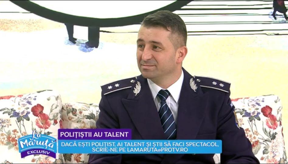 VIDEO Marian Predescu, polițistul cu talent