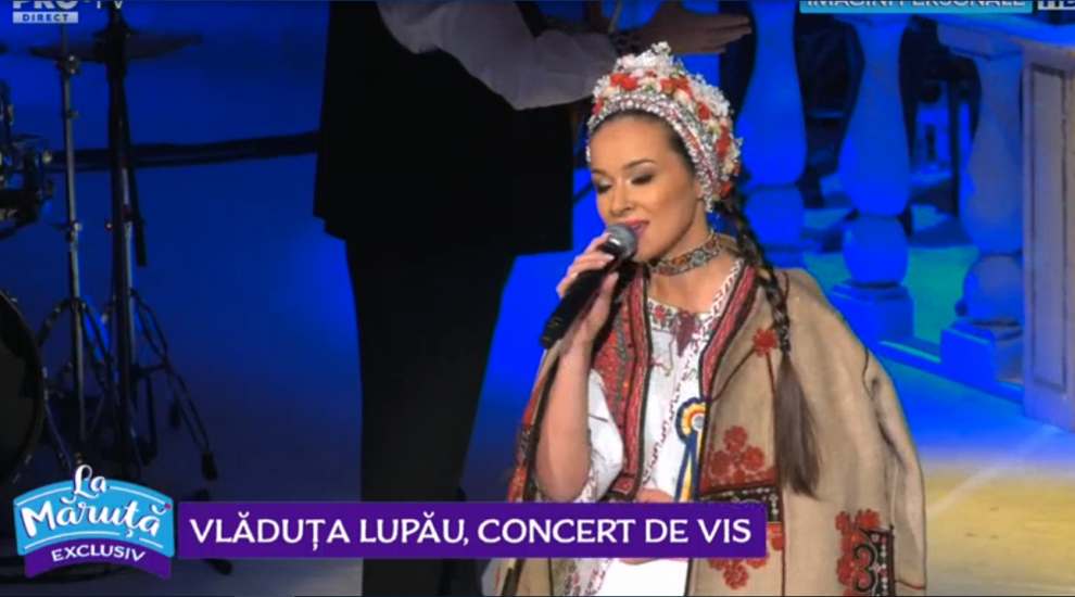 VIDEO Vlăduța Lupău, concert de vis