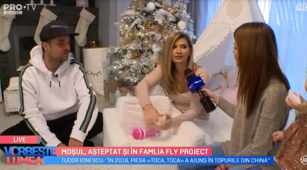 VIDEO Moșul așteptat și în familia Fly Project