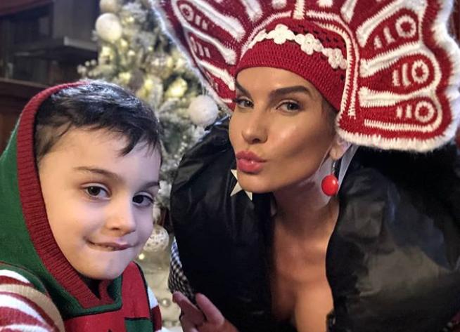 """VIDEO Anna Lesko, pentru prima oară cu fiul ei """"La Măruță"""""""