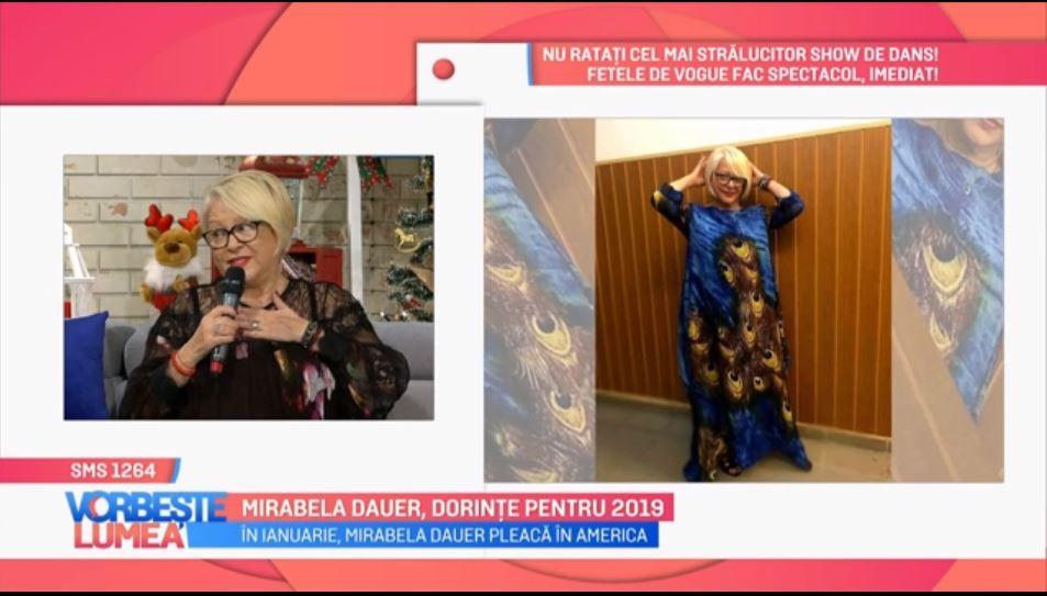 VIDEO Cum și-a petrecut sărbătorile Mirabela Dauer