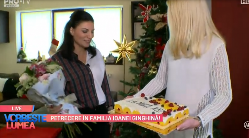 VIDEO Petrecere în familia Ioanei Ginghină!