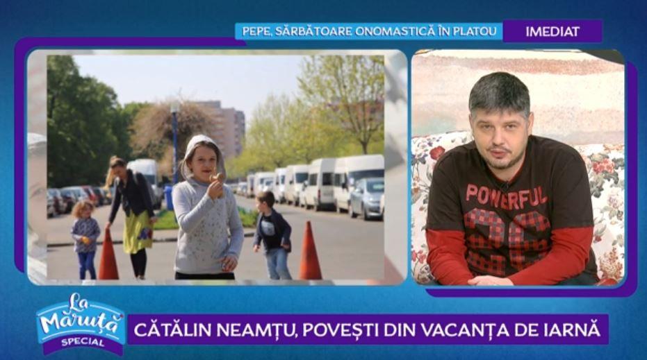 VIDEO Cum și-a petrecut vacanța de iarnă Cătălin Neamțu