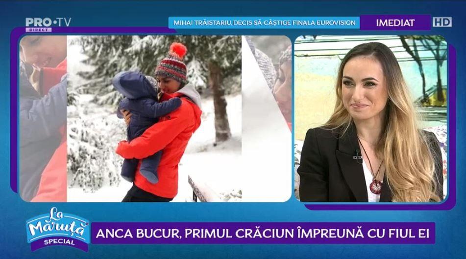 VIDEO Anca Bucur, primul Crăciun alături de fiul ei
