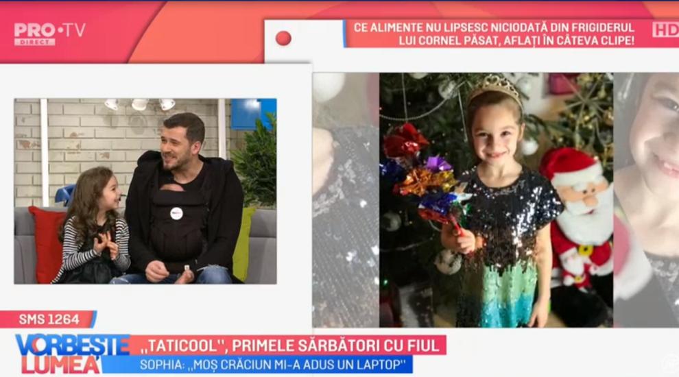 """VIDEO """"Taticool"""", primele sărbători cu fiul"""