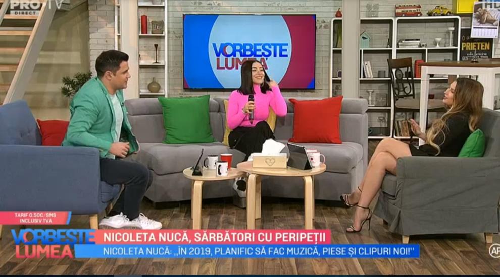 VIDEO Nicoleta Nucă, sărbători cu peripeții