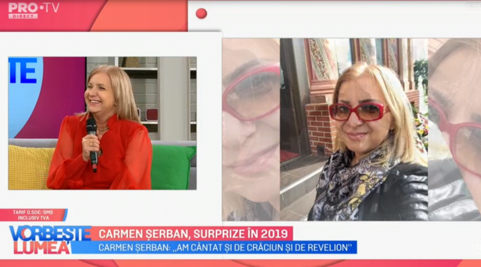 VIDEO Carmen Șerban, surprize în 2019