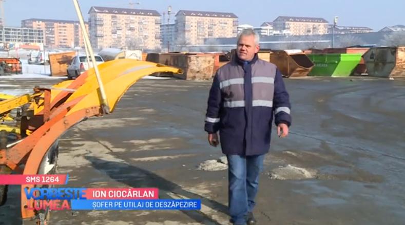 """VIDEO Ion Ciocârlan este cel care """"luptă"""" cu nameții de 8 ani"""