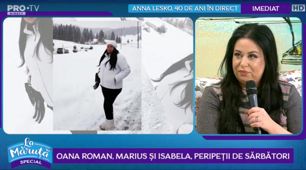 VIDEO Oana Roman, Marius și Isabela, peripeții de sărbători