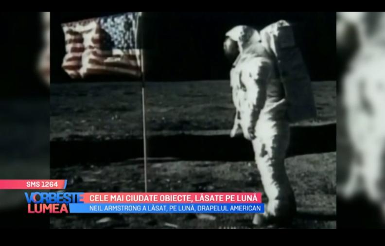VIDEO Obiecte interesante, lăsate pe lună