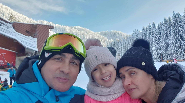 VIDEO Familia Pavel, vacanță la munte