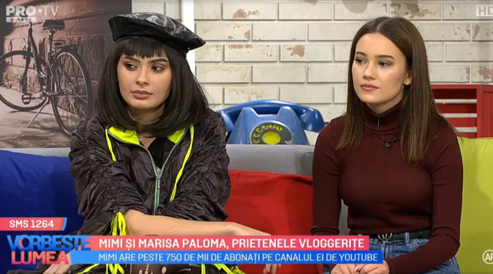 VIDEO Mimi și Marisa Paloma, prietenele vloggerițe