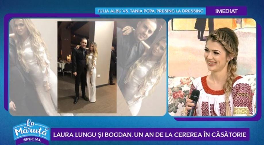 VIDEO Laura Lungu și Bogdan, poveste de iubire inedită