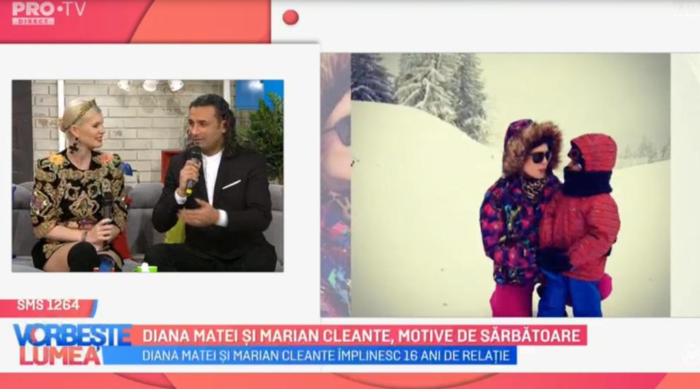 VIDEO Diana Matei și Marian Cleante, motive de sărbătoare