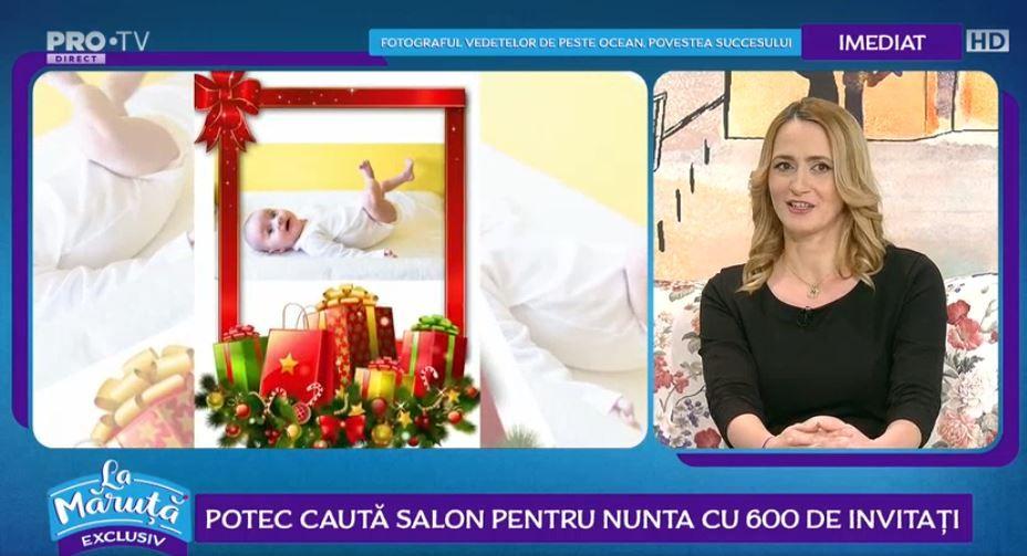 VIDEO Camelia Potec, primul Crăciun alături de fiica ei