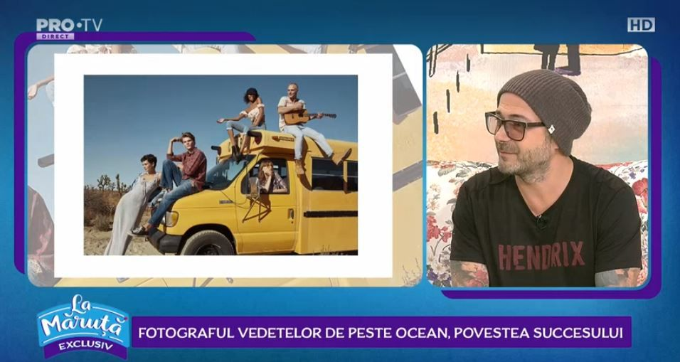 VIDEO Povestea fotografului care a lucrat pentru Celine Dion