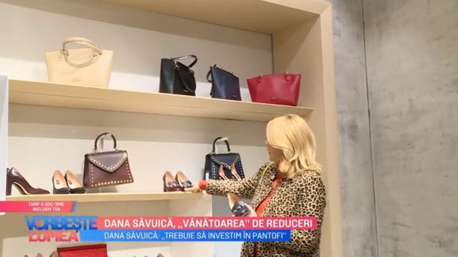 VIDEO Dana Săvuică te învață ce cumpăraturi să faci în perioada reducerilor