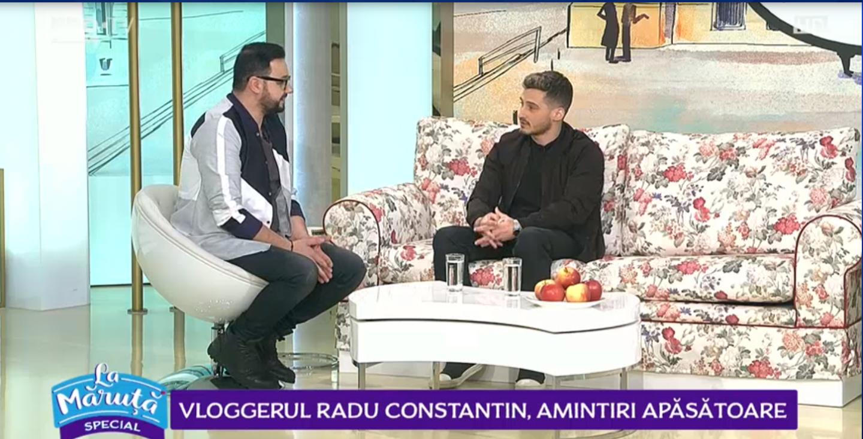 VIDEO Vloggerul Radu Constantin, amintiri apăsătoare