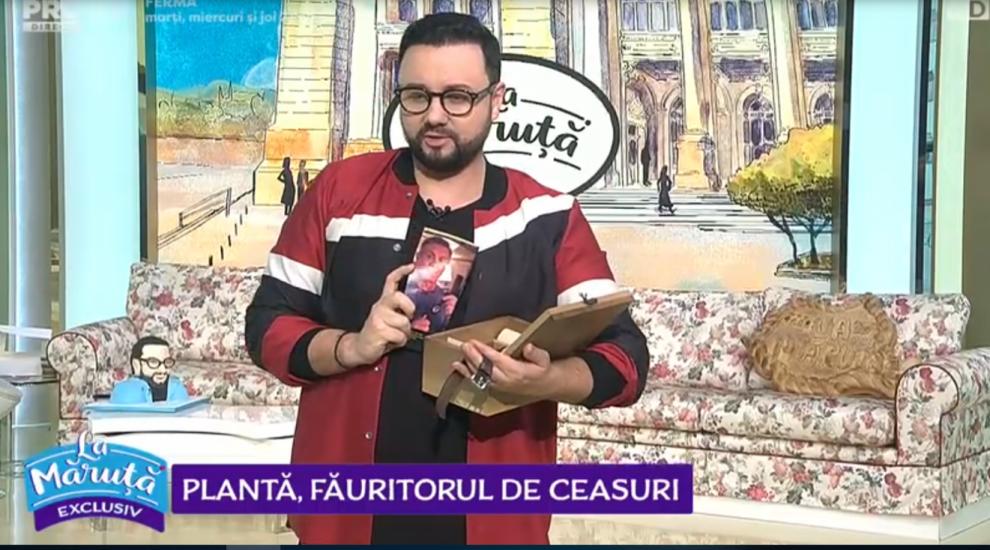 VIDEO Augustin Matei i-a făcut un ceas lui Cătălin Măruță