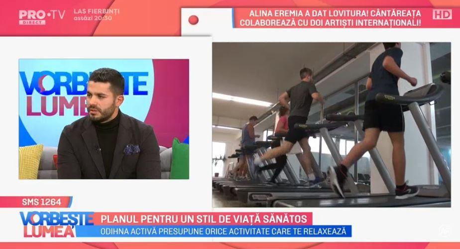 VIDEO Nutriționistul Mario Popescu ne oferă detalii despre cum putem avea un stil de viață sănătos