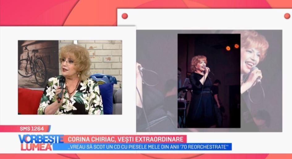 VIDEO Corina Chiriac are vești extraordinare. Artista este implicată în noi proiecte