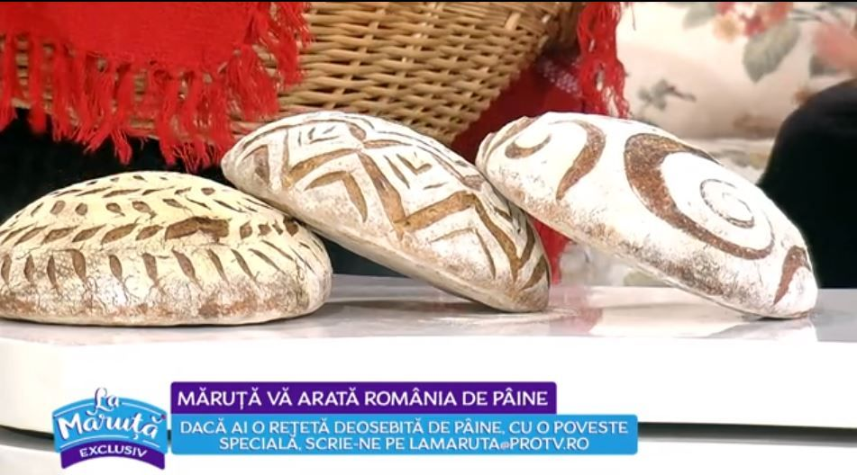VIDEO Pâini speciale, cu motive tradiționale
