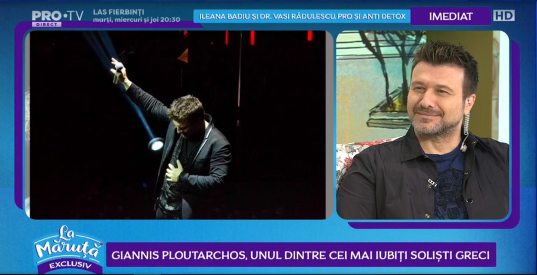 VIDEO Giannis Ploutarchos, unul dintre cei mai iubiți soliști greci
