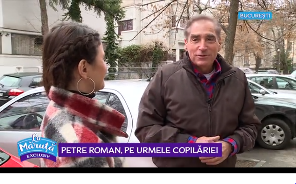 VIDEO Petre Roman, pe urmele copilăriei