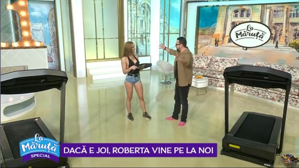 VIDEODacă e joi, Roberta vine pe la noi