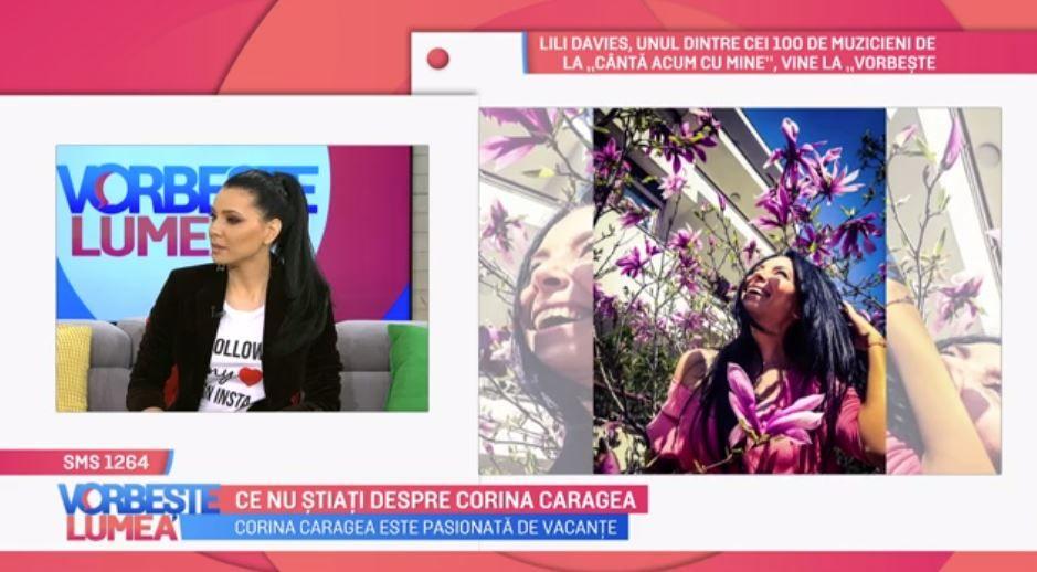 VIDEO Corina Caragea, povestiri din vacanță