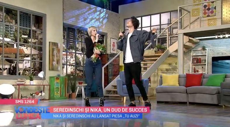 VIDEO Seredinschi și Nika, un duo de succes