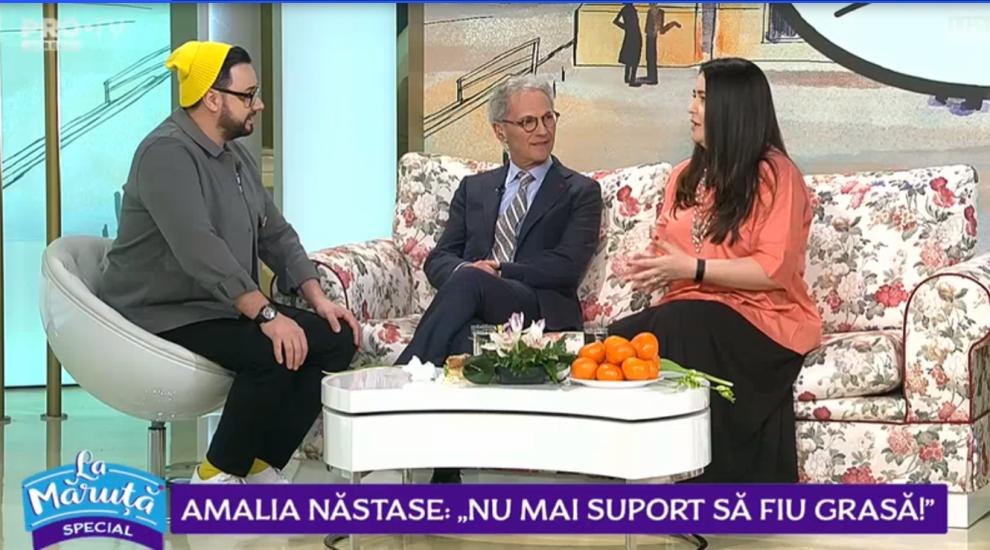 VIDEO Amalia Năstase, cu 30 de kilograme în plus