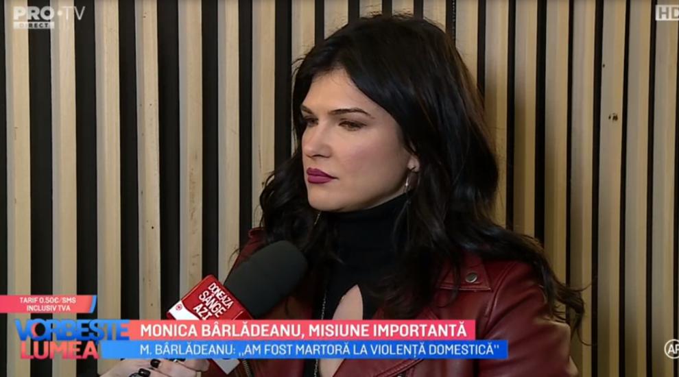 VIDEO Monica Bîrlădeanu și campania împotriva violenței domestice