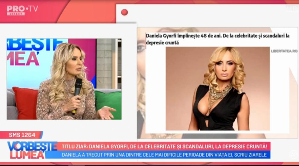 """VIDEO Daniela Gyorfi """"luptă"""" cu zvonurile"""