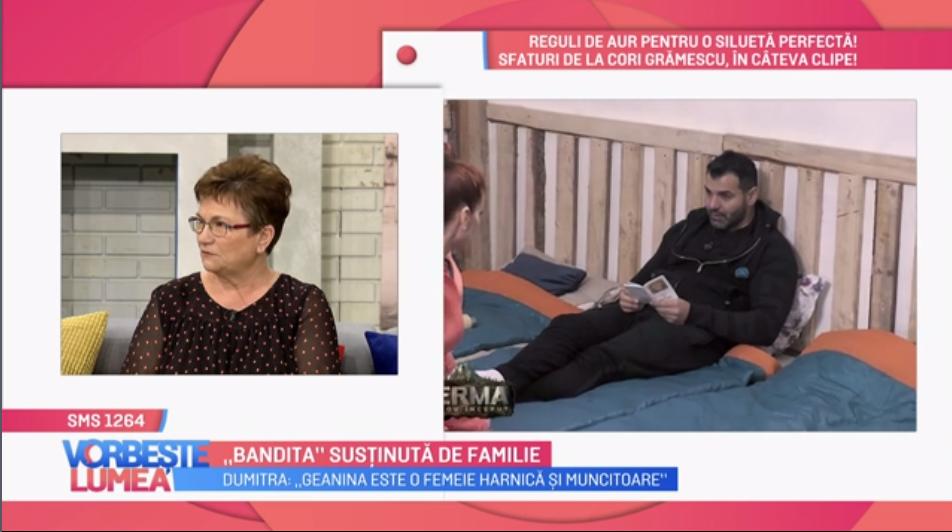 """VIDEO Mama și fiul Geaninei Ilieș au venit în platoul """"Vorbește Lumea"""""""