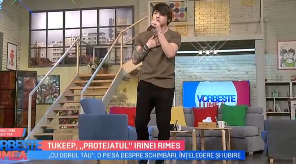 "VIDEO Tukeep ""protejatul"" Irinei Rimes"