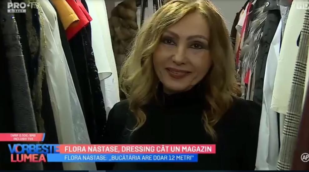 VIDEO Flora Năstase, dressing cât un magazin