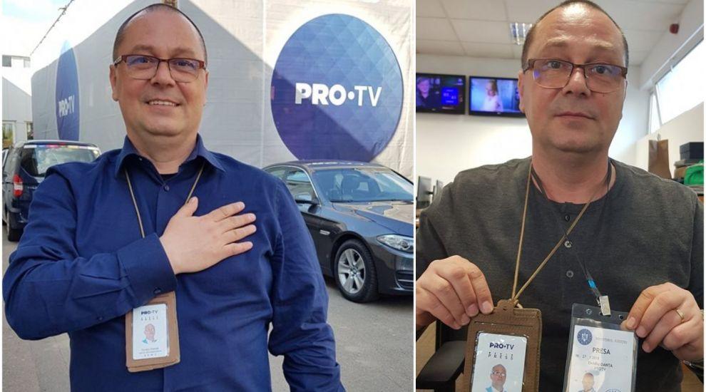 Reacția jurnalistului PRO TV Ovidiu Oanță după ce ministrul Justiției i-a refuzat acreditarea
