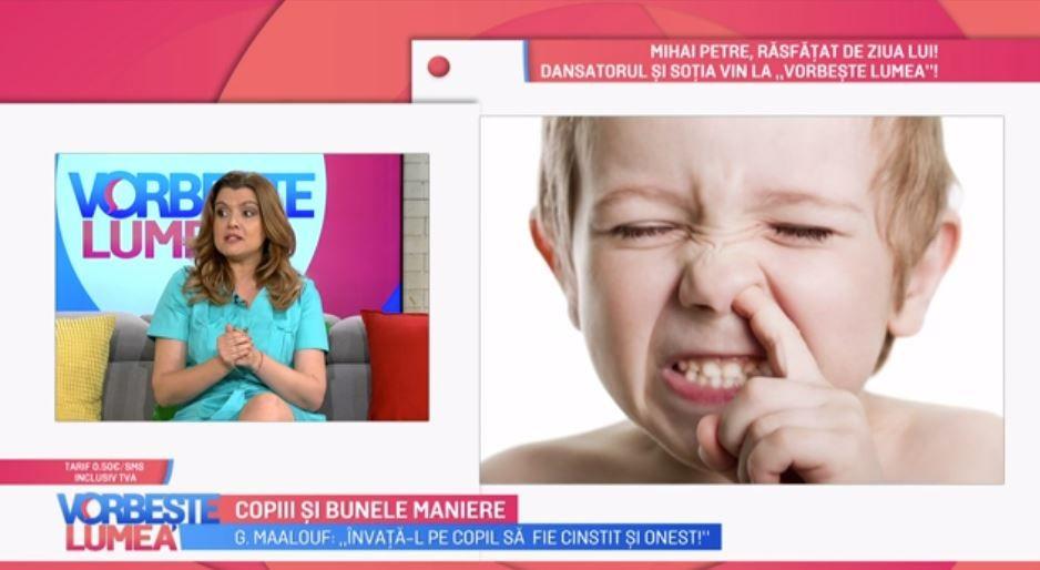 VIDEO Cum îi învățăm pe cei mici bunele maniere. Gabriela Maalouf ne spune totul despre acest subiect