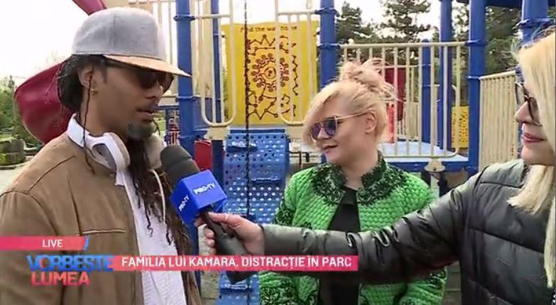 VIDEO Familia lui Kamara, distracție în parc