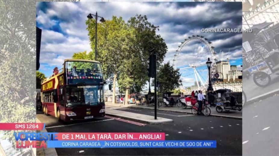 VIDEO Idei pentru vacanța de 1 mai. Corina Caragea îți recomandă să vizitezi Anglia