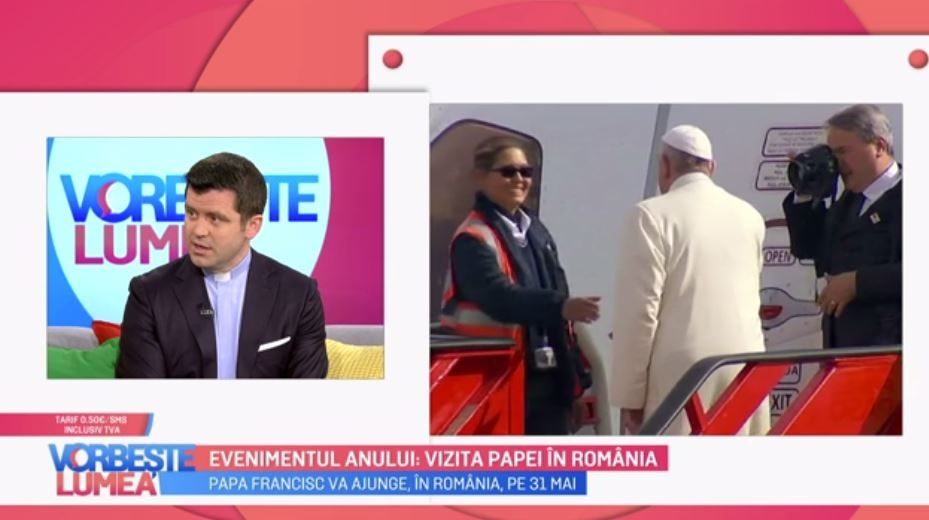 Papa Francisc vine în România. Ce trebuie să facem și cum trebuie să ne purtăm în prezența Papei ne spune Francisc Doboș