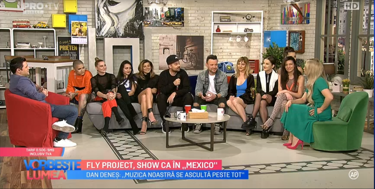 """VIDEO Fly Project, show ca în """"Mexico"""""""