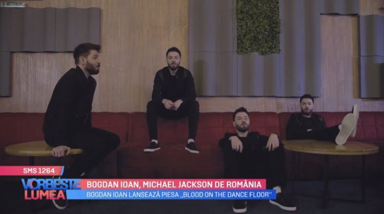 "VIDEO Bogdan Ioan lansează piesa ""Blood on the dance floor"""